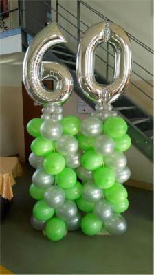 Balónková dekorace narozeniny