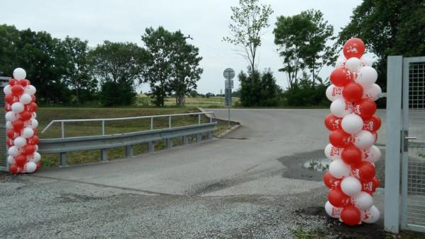 sloupy balonky helium Liberec